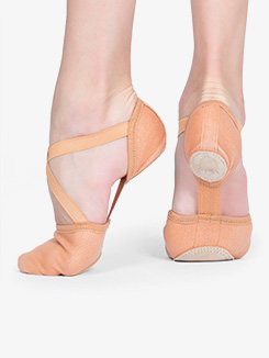 Womens Dream Stretch Model 10 Canvas Ballet Shoes