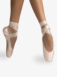 Womens Smart Satin Anti-Slip Pointe Shoes
