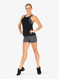 Womens Foldover Running Shorts