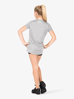 Girls Hybrid 2.0 Active Short Sleeve Top