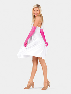 Adult Satin Extra Long Gloves