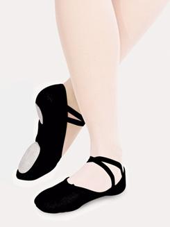 Juliet Adult Split-Sole Canvas Ballet Slipper