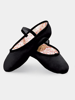 Daisy Adult Full Sole Leather Ballet Slipper