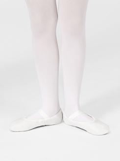 Daisy Child Full Sole Leather Ballet Slipper