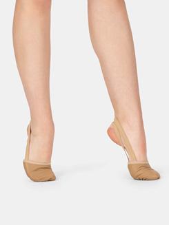 Girls Leather Lyrical Shoe
