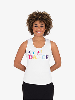 Womens Bright Dance Tank Top