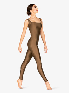 Adult Elastic Ladder Back Tank Unitard