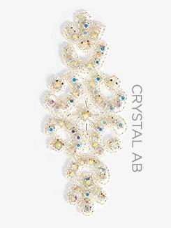 Crystal Rhinestoned Applique
