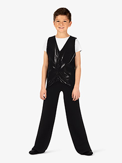 Boys Fitted Short Sleeve Pullover