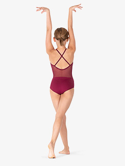 Girls X-Back Camisole Leotard