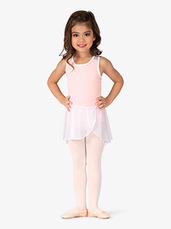 Girls Pull-On Mesh Ballet Skirt