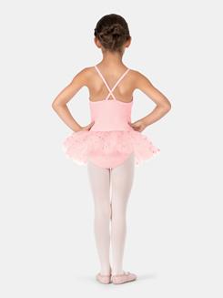 Child Criss-Cross Camisole Flower Tutu Dress