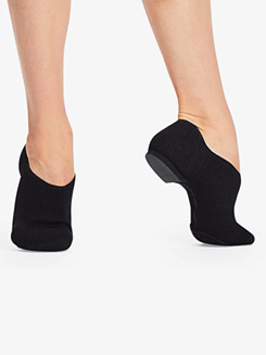 Womens Pure Knit Slip On Jazz Shoes