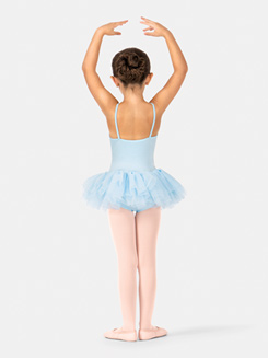 Child Camisole Ruffle Trim Tutu Dress
