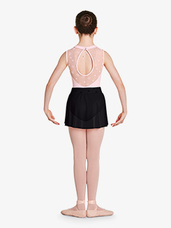 Girls Chantrell Flower Mesh Waistband Pull-On Ballet Skirt