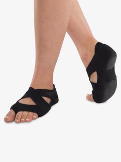 Neoprene Cross Wrap Dance Shoes
