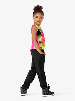 Girls Performance Groupie Oversized Reversible Tank Top