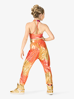 Girls Performance Groupie Metallic Jogger Pants
