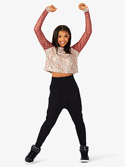 Womens Performance Flexx Dual Metallic Hooded Sweater
