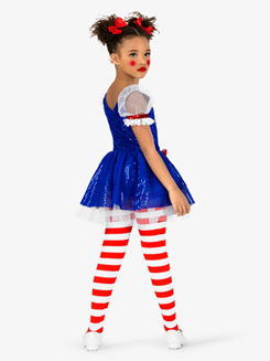 Womens Doll 3-Piece Character Dance Costume Set