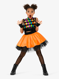 Girls Multi-Colored 2-Piece Character Costume Set
