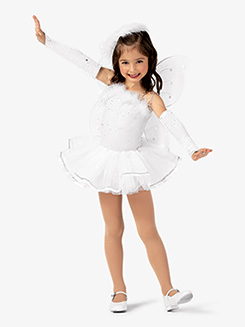 Girls Angel Camisole Character Dance Dress Set