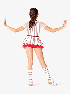 Girls Striped Character Dance Dress Set