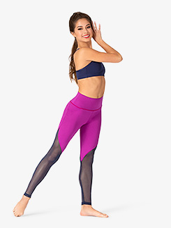 Womens Peak Mesh Workout Leggings