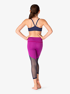 Girls Peak Mesh Workout Leggings