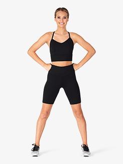 Womens 8 Workout Biker Shorts