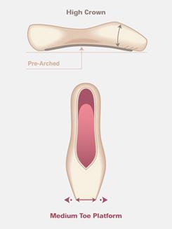 Adult Entrada Pro Pointe Shoe