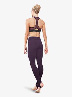 Womens V-Front Stirrup Leggings