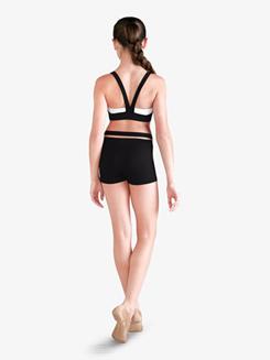 Girls Crisscross Dance Shorts