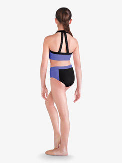 Girls Two-Tone Dance Brief