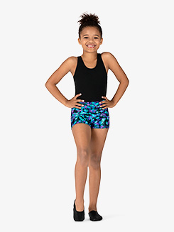 Girls Ink Spot Dance Shorts