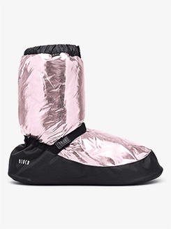 Adult Metallic Warm-up Booties