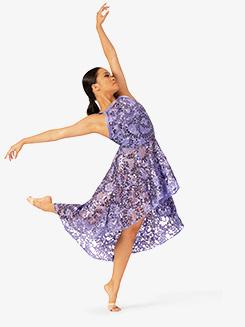 Womens Performance Asymmetrical Camisole Dress