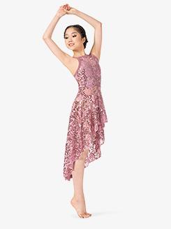 Girls Performance Asymmetrical Camisole Dress