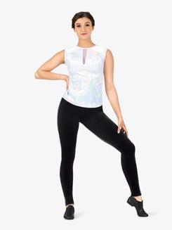Womens Velvet Dance Leggings
