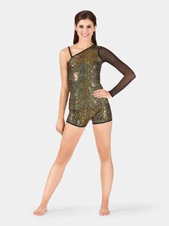 Adult Sequin High Waist Shorts