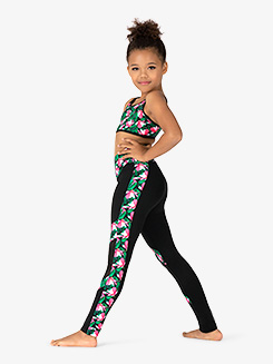 Girls Magnolia Memories Open Back Dance Crop Top
