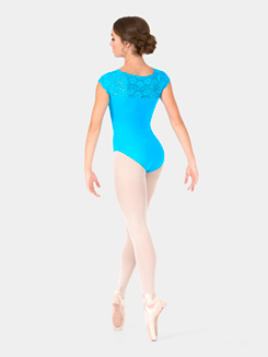 Adult Lace Cap Sleeve Suzanne Leotard