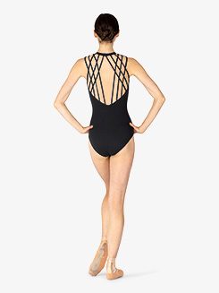 Womens Sakura Strappy Back Tank Leotard
