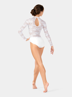 Adult Long Sleeve Lace Leotard