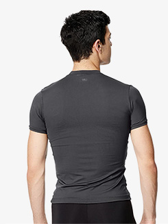Mens Ferdinand Microfiber Short Sleeve Dance T-Shirt