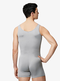 Mens Microfiber Tank Shorty Unitard