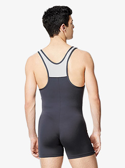 Mens Gabriel Racerback Tank Shorty Unitard