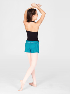 Adult Unisex Elastic Waist Dance Short