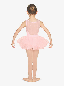 Girls Heart Flock Mesh Tank Ballet Tutu Dress
