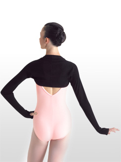 Warm-up Shrug with Thumbholes